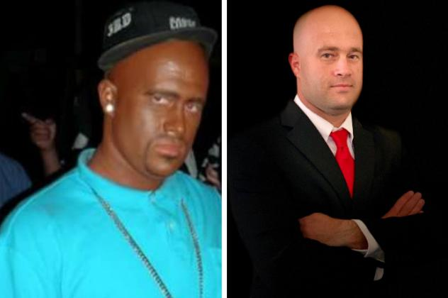 """Craig Stivender, a Republican candidate for Colleton County sheriff in South Carolina, released a photo of himself in blackface in a recent campaign video. He says he was dressed as Demetrius """"Big Meech"""" Flenory, who was sentenced to 30 years in prison f"""
