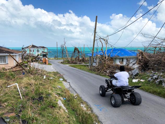 Parts of Great Abaco Island are eerily empty after Hurricane Dorian.