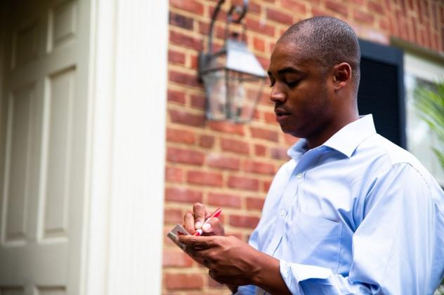 Garrison Coward is one of two African American Republican candidates running in next month's legislative elections in Virginia. Coward previously served as an aide to GOP U.S. Rep. Rob Wittman and led the Republican Party of Virginia's outreach to minori