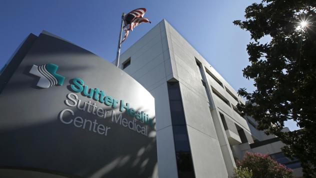 California Attorney General Xavier Becerra, along with 1,500 self-funded health plans, sued Sutter Health for antitrust violations. The closely watched case, which many expected to set precedents nationwide, ended in a settlement Wednesday. Above, Sutter
