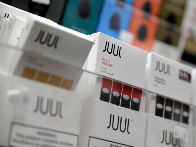 Juul announced it will suspend sales of all non-tobacco, non menthol-based flavors of its e-cigarette products.