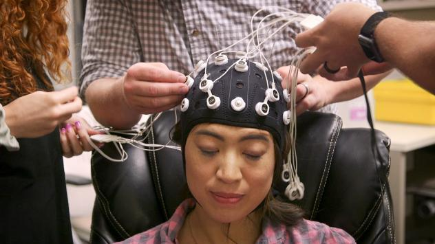 Researchers have found that giving your brain a little electrical zap while you sleep can lead to quicker learning and improved memory. Future You's episode 6 explores what this will mean in 2050.
