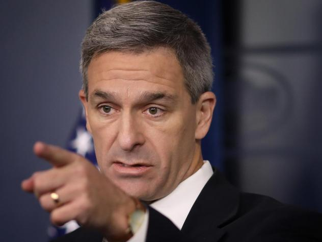 Acting Director of U.S. Citizenship and Immigration Services Ken Cuccinelli speaks about immigration policy at the White House on August 12, 2019 Win McNamee/Getty Images