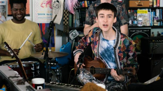 Jacob Collier performs at the Tiny Desk on May 16, 2019.