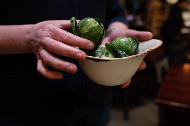 Shannan Troncoso, co-owner of Brookland's Finest Bar & Kitchen in Washington, D.C., has turned her customers into fans of Brussels sprouts.