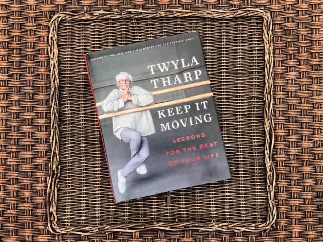 """""""Keep It Moving: Lessons for the Rest of Your Life"""" by Twyla Tharp (Allison Hagan/Here & Now)"""