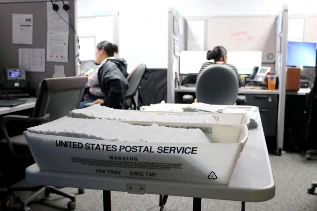 Colorado estimates that about 15% of the 12 million letters it sends to beneficiaries of public assistance programs each year are returned unopened, left to pile up in county offices like this one in Colorado Springs. That amounts to about 1.8 million pi