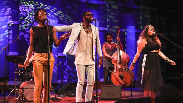 Mwenso & the Shakes perform live at WXPN's Free At Noon Concert - recorded live for this World Cafe Session.
