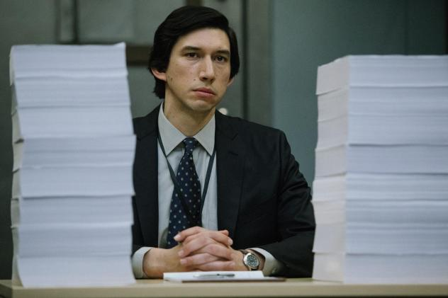 In <em>The Report</em>, Adam Driver plays staffer following the CIA's paper trail of post-9/11 detention and interrogation tactics.