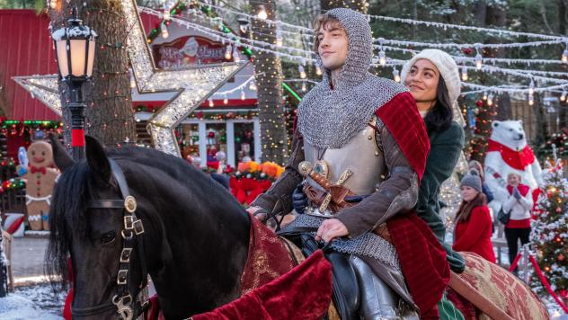 Josh Whitehouse and Vanessa Hudgens star in a movie in which an actual knight comes to modern-day Ohio, and if that's not enough for you, I can't help you.