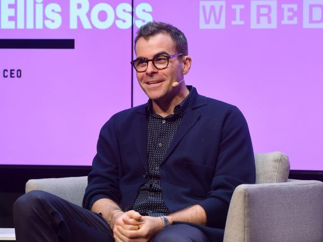 """Instagram's Adam Mosseri speaks onstage at the WIRED25 Summit 2019 in San Francisco. He said some users will no longer see the """"like"""" counter, but it won't impact """"the whole U.S. at once."""""""