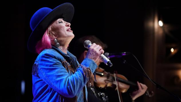 Tanya Tucker performing live at the AmericanaFest Day Stage presented by NPR Music, WMOT and World Cafe.