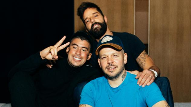 Bad Bunny (left), Ricky Martin and Residente collaborate on a new track, just in time for the Latin Grammys.