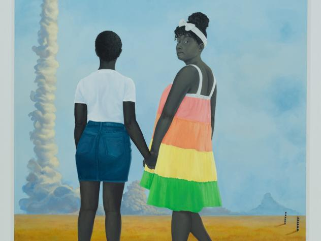 The Baltimore Museum of Art will only buy works by women next year, as part of a yearlong series exhibiting art by women. Amy Sherald's<em> Planes, rockets, and the spaces in between </em>(2018) is among the 3,800 works by women in the museum's collectio