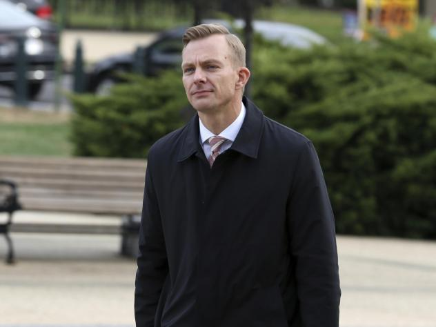 David Holmes, a career diplomat and the political counselor at the U.S. Embassy in Kyiv, Ukraine, is scheduled to give public testimony as part of the impeachment inquiry into President Trump on Thursday.
