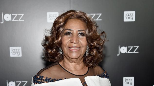 Aretha Franklin, photographed  at Jazz at Lincoln Center on December 17, 2015 in New York.