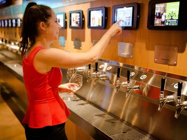 The Red Arrow Tap Room in Naperville, Ill., currently lists 44 craft beers or ciders on tap.