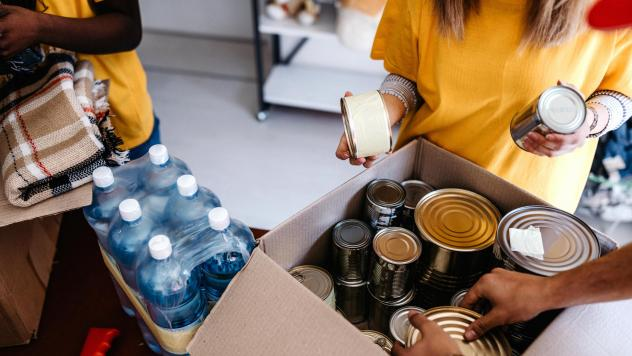 If you don't have a steady source of healthy food, it's hard to manage chronic conditions. That's why health care providers are setting up food pantries — right in hospitals and clinics.