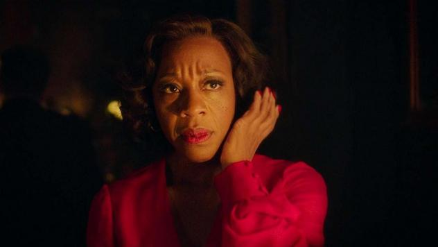 <em>In Fabric</em> stars Marianne Jean-Baptiste as Shelia who falls prey to a killer deal on a killer dress.