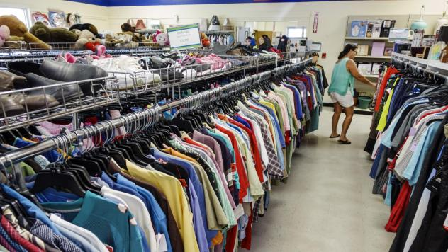 Author Adam Minter estimates that the average U.S. thrift store is able to sell only about one-third of its inventory. In his new book, <em>Secondhand,</em> he finds out what happens to the other two-thirds.