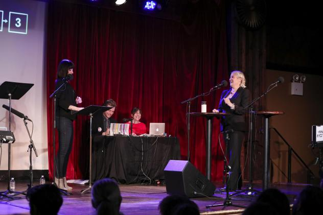 <em>Ask Me Another </em>host Ophira Eisenberg chats with Paula Cole at the Bell House in Brooklyn, New York.