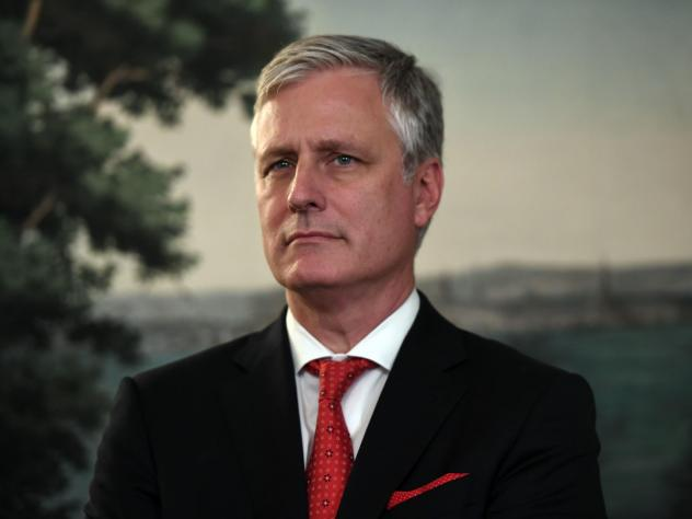 Robert O'Brien, President Trump's new national security adviser, has dire warnings for U.S. allies considering Huawei as a partner for 5G networks.