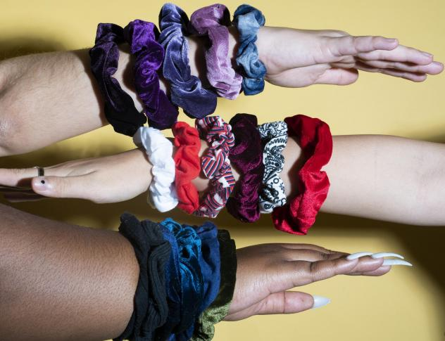 A surprising number of cultural themes brought the scrunchie its new mass appeal — boosted by an Internet teen subculture.