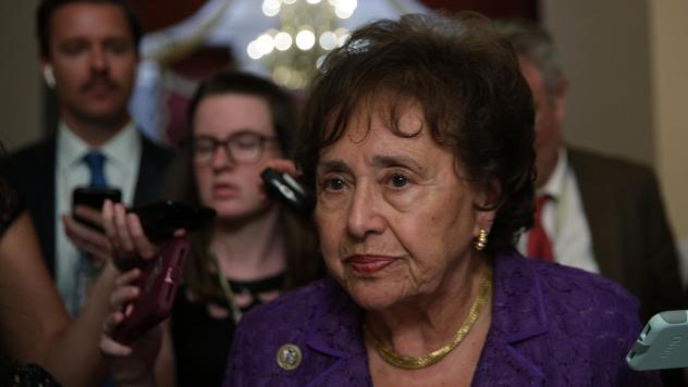 """""""These are really good bills,"""" House Appropriations Committee Chairwoman Nita Lowey, D-N.Y., seen here in June, said last Thursday. Republican lawmakers are also touting wins."""