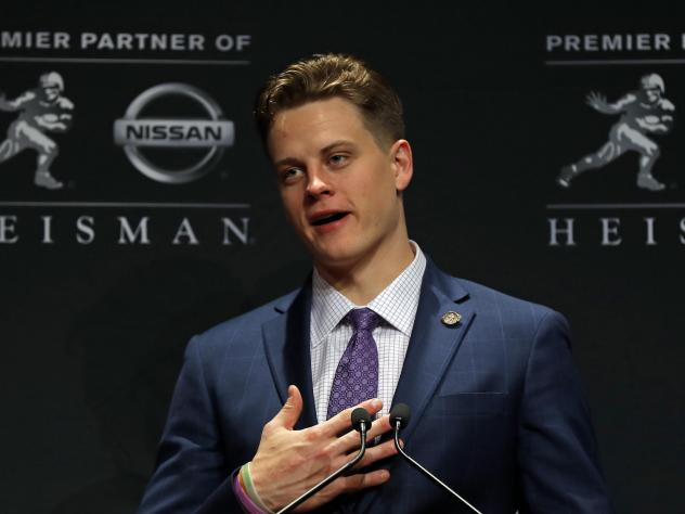 LSU quarterback Joe Burrow described the poverty of his Ohio hometown in his Heisman trophy acceptance speech. Since then, donations from across the U.S. have flooded to the Athens County Food Pantry.