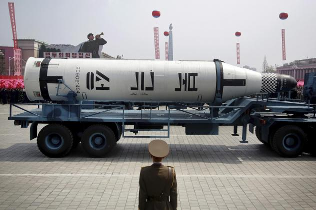 Experts worry that North Korea may be about to test an advanced solid-fuel missile.