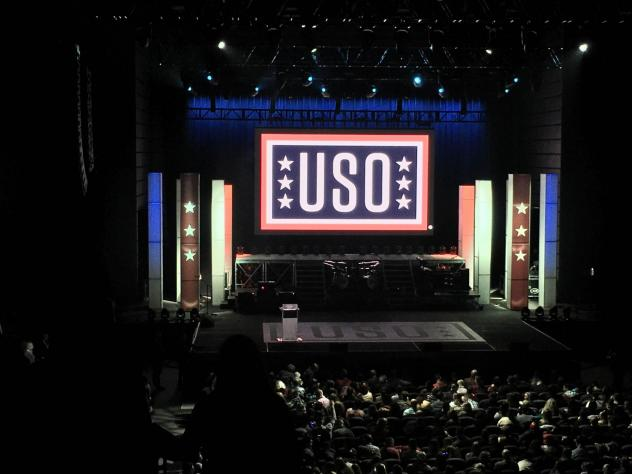 The USO operates 230 locations on seven continents, manned by more than 30,000 volunteers.
