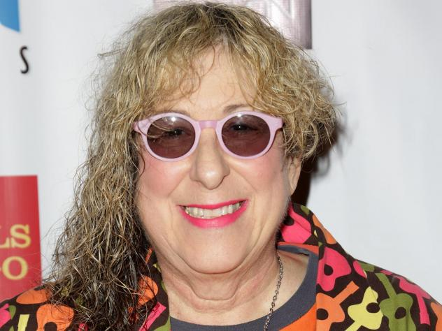 Songwriter Allee Willis attends PAWS/LA presents An Evening of Comedy and Kitsch at Avalon in 2012 in Hollywood.