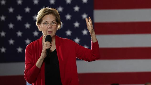 Sen. Elizabeth Warren's presidential campaign raised $21 million in the last three months of 2019, a drop from her previous total and a lower total than other top Democratic candidates.