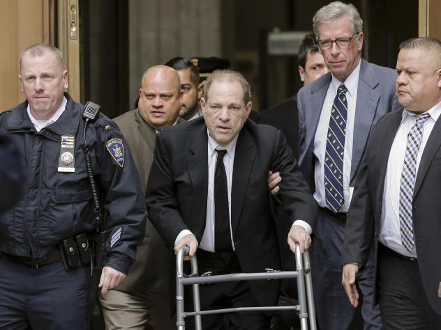Harvey Weinstein leaves a New York court on Monday, where jury selection has begun. Meanwhile, the Los Angeles County District Attorney's Office says the movie mogul faces allegations that he sexually assaulted two women in 2013.