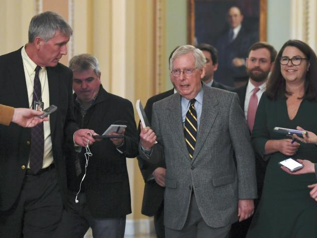 Senate Majority Leader Mitch McConnell said he has abandoned attempts to reach an agreement with Democratic leadership.