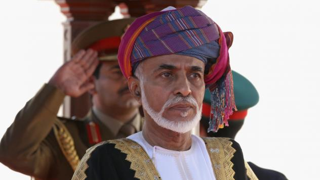 Omani Sultan Qaboos bin Said, seen during a 2010 ceremony in Muscat, died at the age of 79 after suffering for years from an undisclosed illness. After a half-century reign, he has been succeeded by Haitham bin Tariq Al Said.