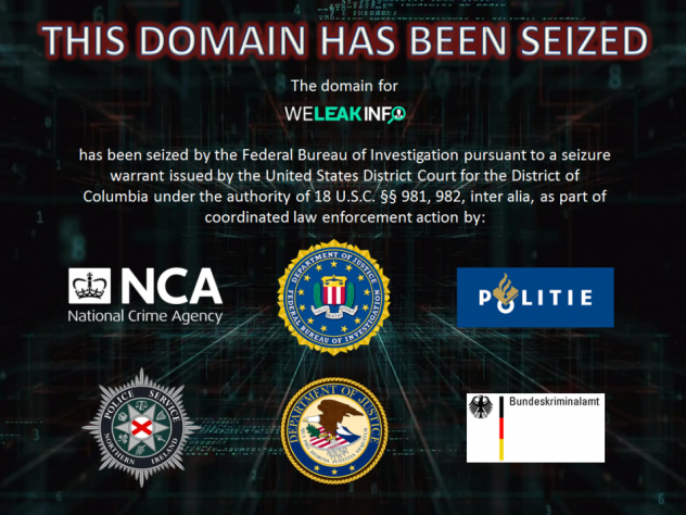 A joint investigation involving the U.S., Germany, the Netherlands, Northern Ireland and the United Kingdom helped take down the WeLeakInfo site, which the Justice Department says sold billions of stolen usernames, passwords and other data.