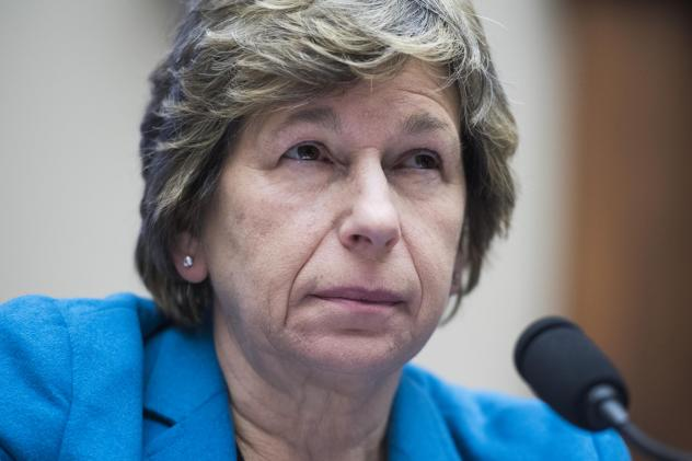 """Randi Weingarten, of the American Federation of Teachers, says the message of her organization's lawsuit is clear: """"Protect the students of the United States of America — not the for-profit [schools] that are making a buck off of them."""""""