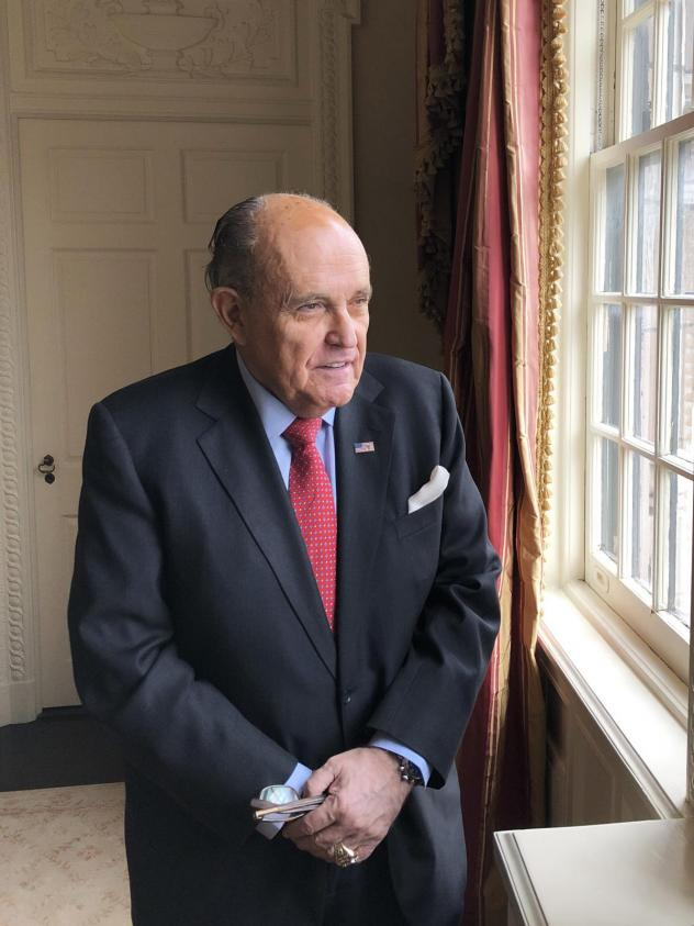 """Former New York City Mayor and President Trump personal attorney Rudy Giuliani, has emerged as a pivotal figure in the events that ultimately resulted in President Trump's impeachment. Giuliani called the president's expected acquittal """"a total vindicati"""