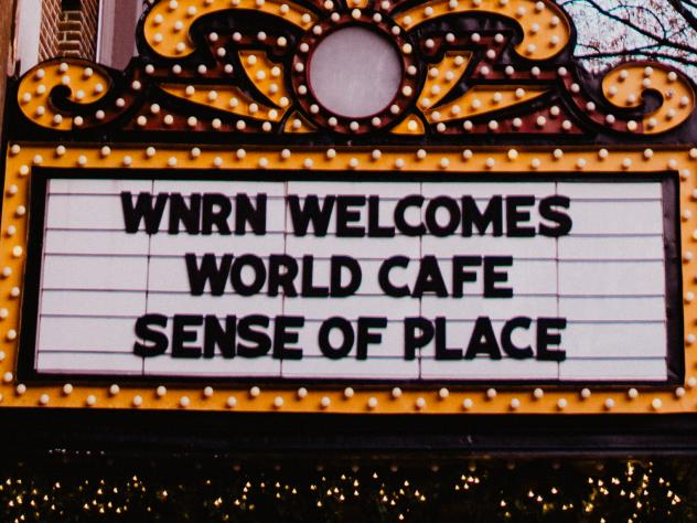 The Paramount Theater in Charlottesville, Va., hosted live performances for <em>World Cafe</em>'s Sense of Place episodes this past week.