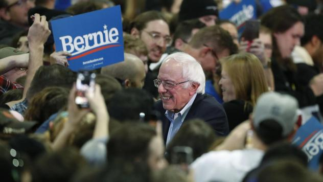 Sen. Bernie Sanders has opened up a wide lead among Democratic voters nationally, according to a new NPR/PBS NewsHour/Marist poll.