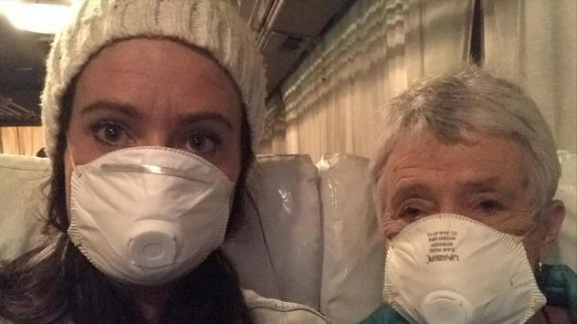 Australians Clare Hedger and her mother are now free from a two-week quarantine on the Diamond Princess cruise ship in Yokohama, Japan. Health officials in Japan are being sharply criticized for their handling of the coronavirus quarantine on the ship.