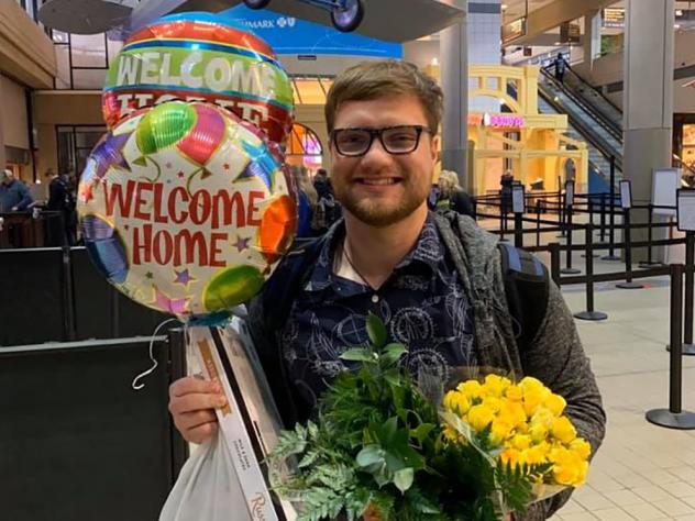 Daniel Wethli got a warm welcome from his mom and dad at the Pittsburgh airport last week after clearing two weeks of quarantine in Southern California. He was studying in Wuhan when the novel coronavirus shut the city down, but never showed any signs of