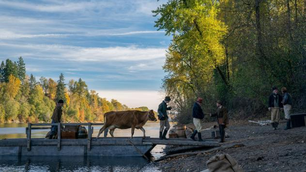 <em>When Greener Pastures Are Unpasteurized: </em>Two men try to start a business in the Oregon Territory in <em>First Cow</em>.