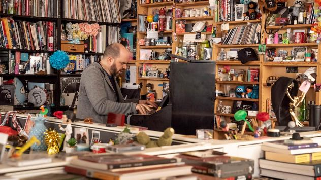 Kirill Gerstein performs at NPR's Tiny Desk, Washington, D.C. on January 28th, 2020.