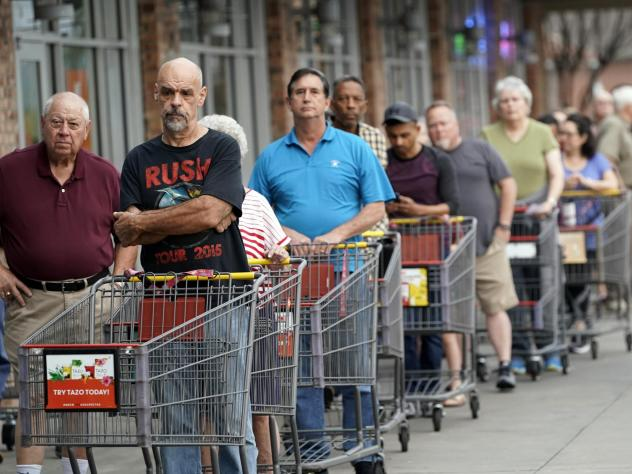 The $1 trillion stimulus package proposed by the Trump administration would give Americans more spending money, but beside grocery stores many spending outlets have been closed by the pandemic.