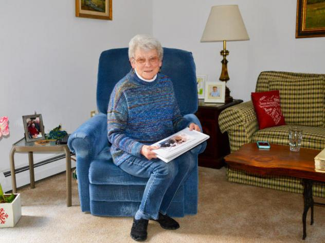 Marion Austin used to visit her husband John Austin every day at The Pines, a nursing home in Rutland, Vt. Now, the couple of nearly 70 years is keeping in touch via FaceTime.