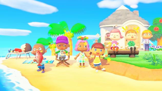 <em></em>The multiplayer function in <em>Animal Crossing: New Horizons</em> means up to eight people can be on the same island.