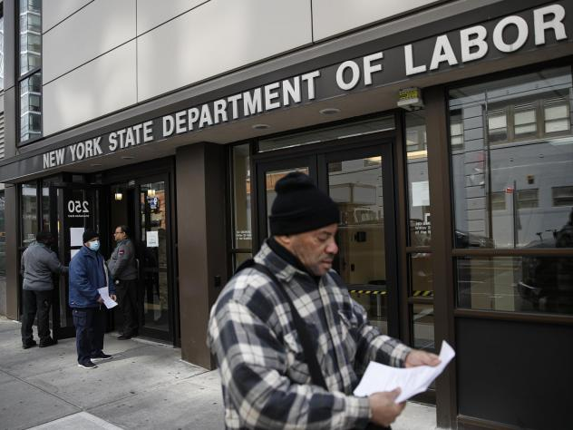 The economic rescue package passed by the Senate this week would let gig workers and other self-employed people seek unemployment benefits they wouldn't normally qualify for.