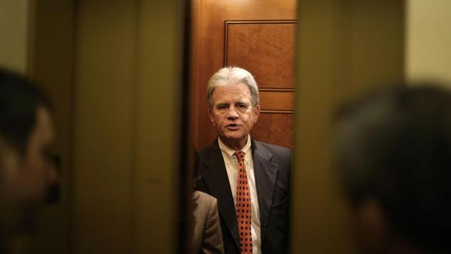 Former Oklahoma Sen. Tom Coburn, seen on Capitol Hill in 2013, has died at the age of 72.